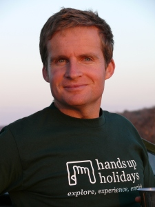 Chris Hill Founder of Hands Up Holidays