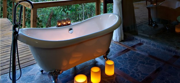 Stay at luxurious eco-lodges