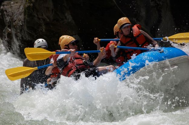 Try a host of different adventure activities