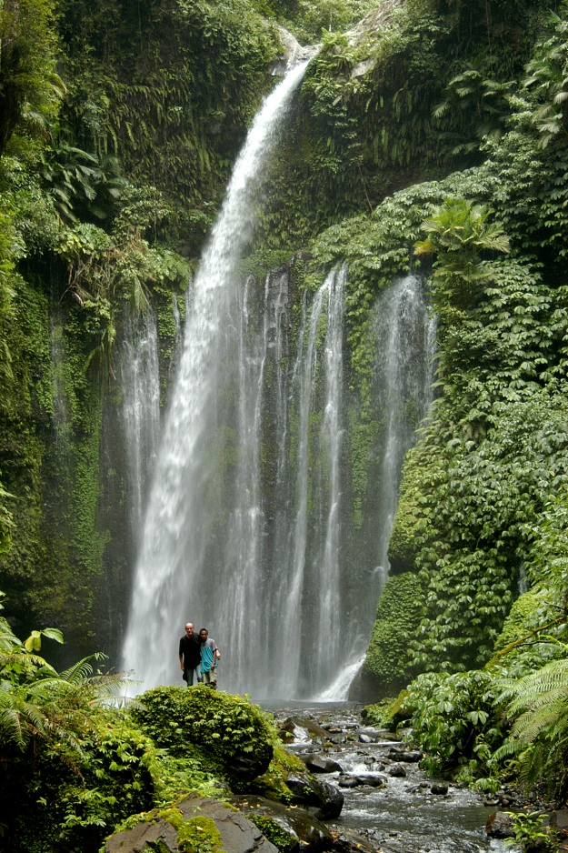 Visit a stunning waterfall